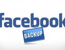 Cách backup hình ảnh, video từ Facebook