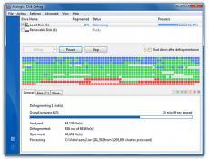 Hướng dẫn chống phân mảnh ổ cứng bằng Disk Defragmenter