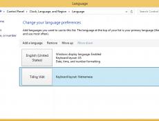 Hướng dẫn thay đổi ngôn ngữ trên Windows 8